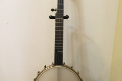 front view of banjo